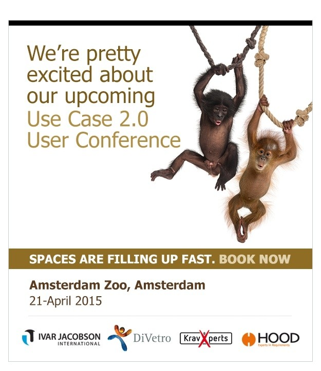 Use Case 2.0 User Conference in Artis - Amsterdam
