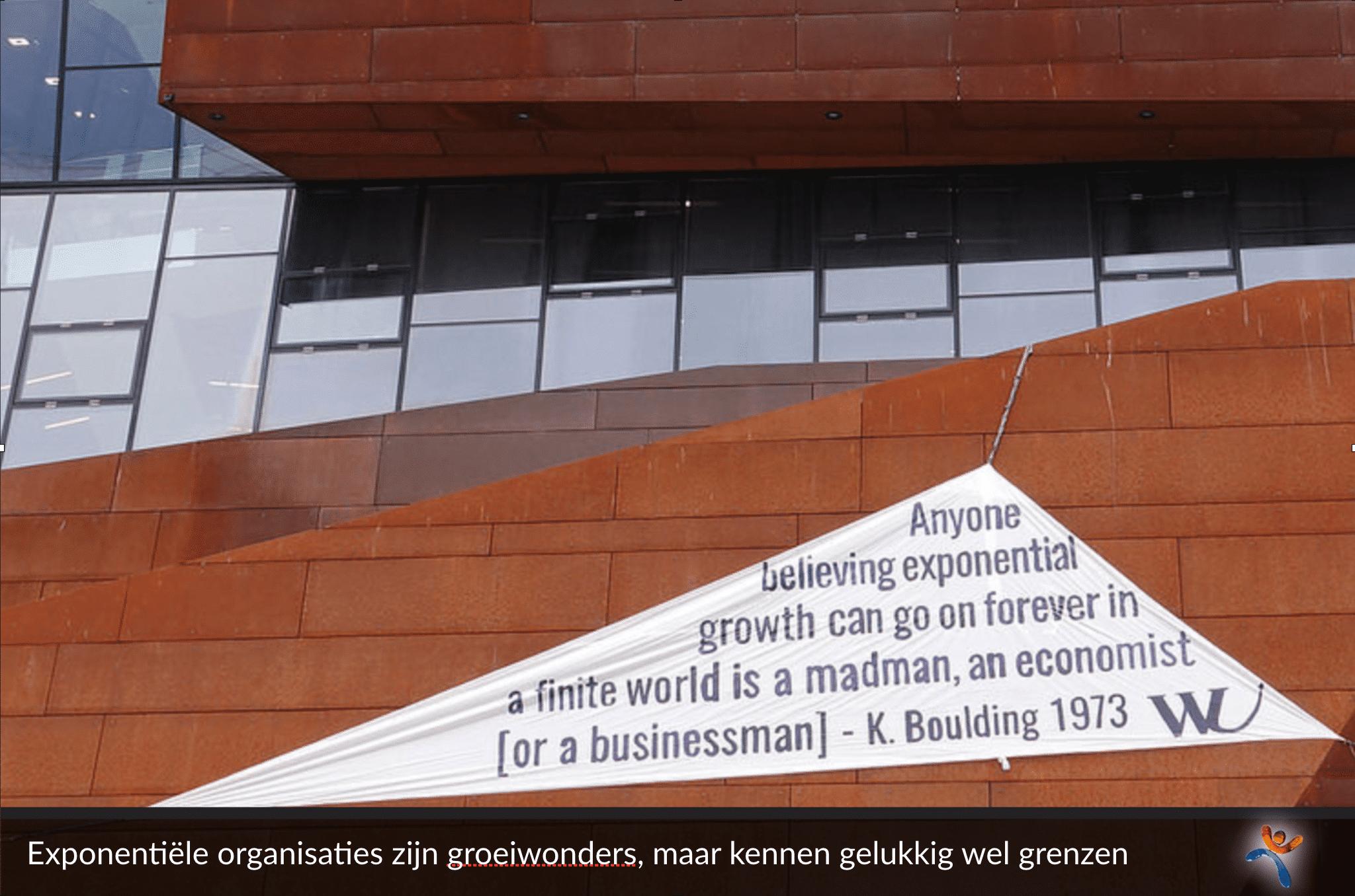 Exponentiële organisaties zijn groeiwinders, maar kennen gelukkig wel grenzen