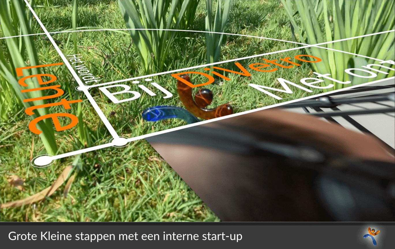 Grote kleine stappen zetten met interne start-ups