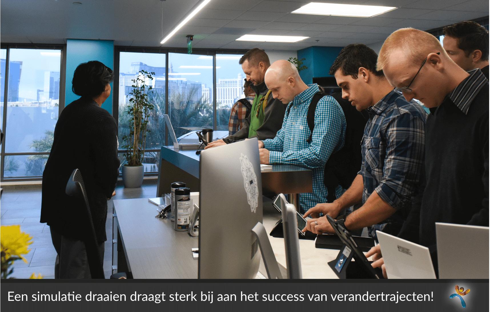 DiVetro heeft een succesvol format om met een groep ICT'ers te oefenen met nieuwe processen in de vorm van een simulatie. Transities lopen hierdoor soepeler
