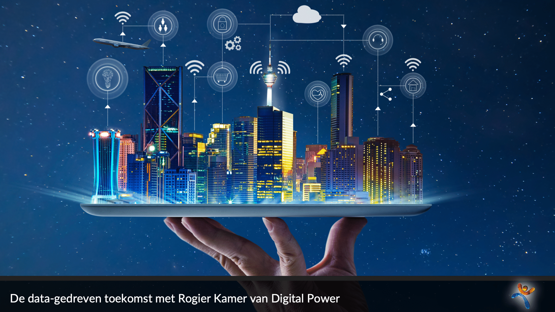Een fascinerend gesprek met Rogier Kamer van Digital Power over big data en de digitalisering van de samenleving.