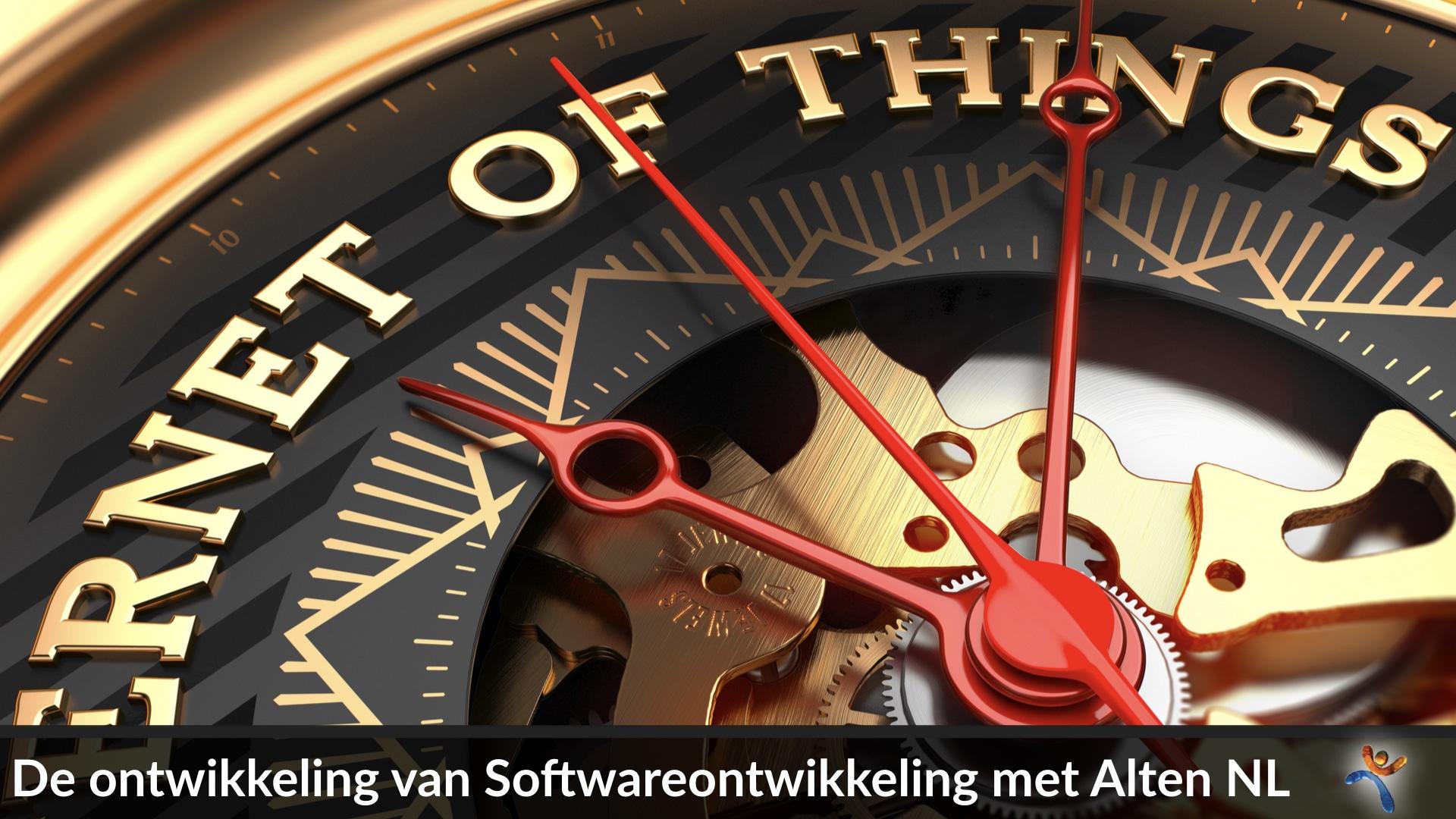 Ontwikkeling van de softwareontwikkeling met Hans beugelend en Leon Wolters van Alten Nederland.