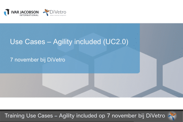 Use cases - Agility included
