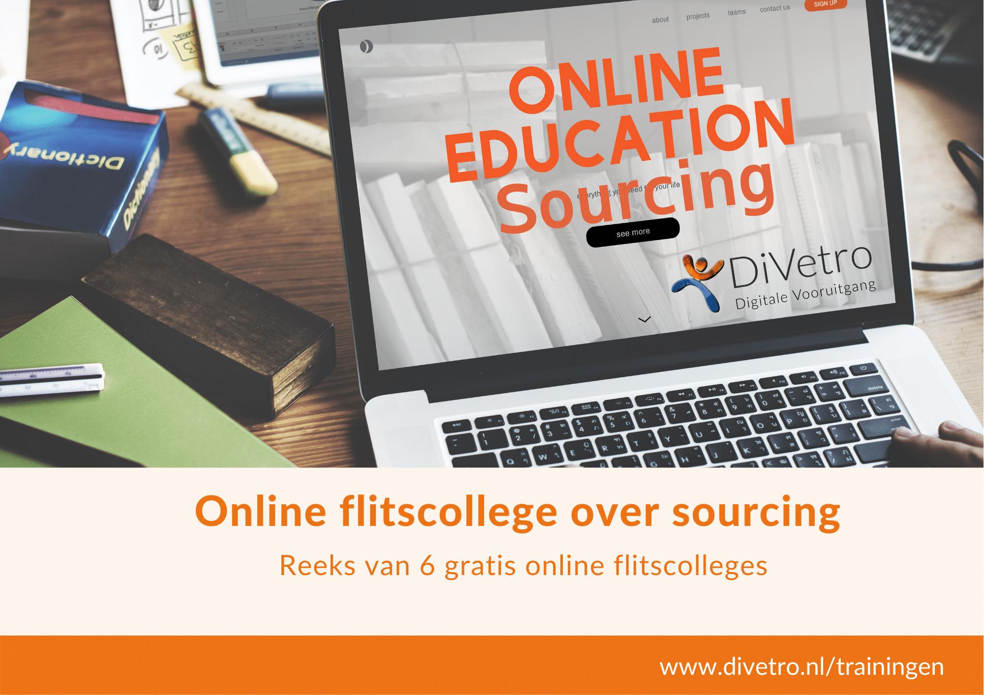Sourcing - Inleiding | online flitscollege