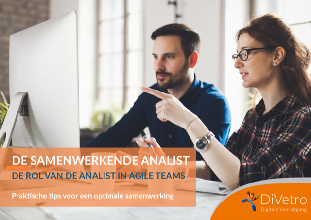 "Download ons e-book ""De samenwerkende analist"""